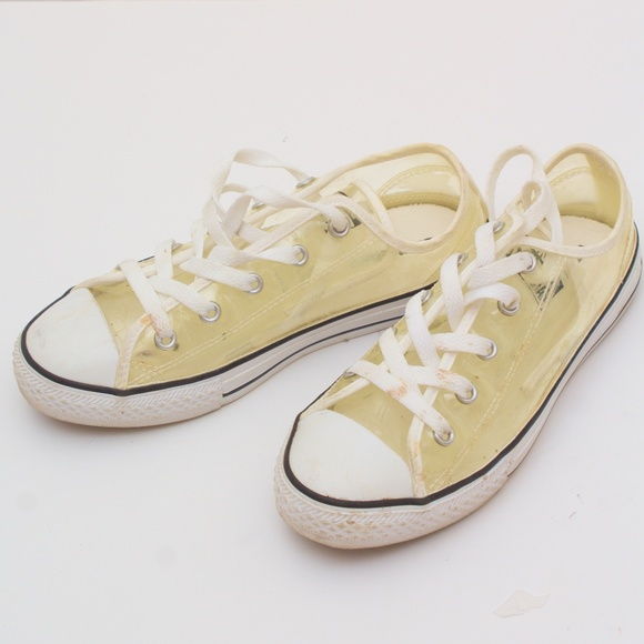 4daf251a69 Transparent Lucite Clear Converse All Star Low top